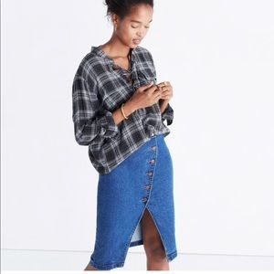 Madewell Lace Up Top